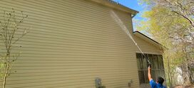 2 story house wash